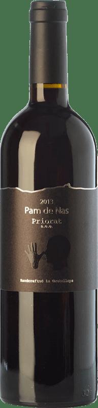 47,95 € Envío gratis | Vino tinto Trossos del Priorat Pam de Nas Crianza D.O.Ca. Priorat Cataluña España Garnacha, Cariñena Botella 75 cl