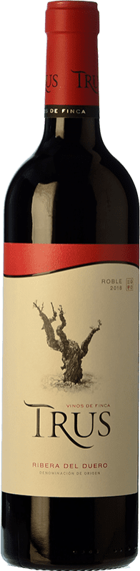 9,95 € Free Shipping | Red wine Trus Roble D.O. Ribera del Duero Castilla y León Spain Tempranillo Bottle 75 cl