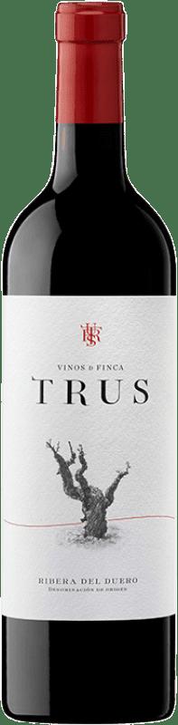 9,95 € Envoi gratuit | Vin rouge Trus Roble D.O. Ribera del Duero Castille et Leon Espagne Tempranillo Bouteille 75 cl