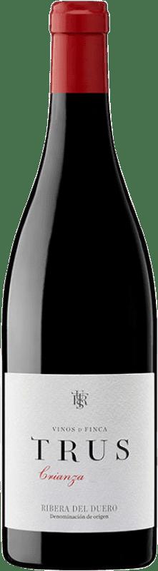 16,95 € Envoi gratuit | Vin rouge Trus Crianza D.O. Ribera del Duero Castille et Leon Espagne Tempranillo Bouteille 75 cl