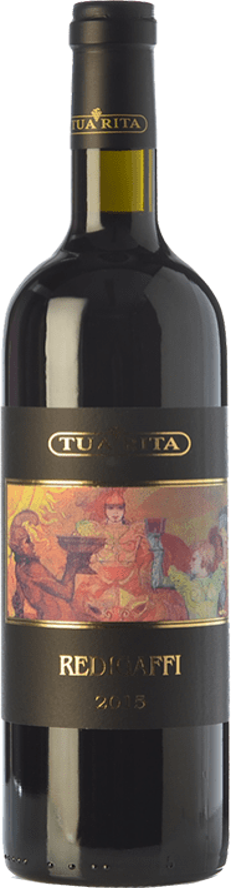 224,95 € Envoi gratuit | Vin rouge Tua Rita Redigaffi I.G.T. Toscana Toscane Italie Merlot Bouteille 75 cl
