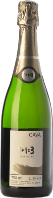 9,95 € Free Shipping | White sparkling U Més U Fan Tres 1+1=3 Brut Nature Reserva D.O. Cava Catalonia Spain Macabeo, Xarel·lo, Parellada Bottle 75 cl. | Thousands of wine lovers trust us to get the best price guarantee, free shipping always and hassle-free shopping and returns.