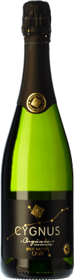 12,95 € Free Shipping | White sparkling U Més U Fan Tres 1+1=3 Cygnus Organic Brut Nature Reserva D.O. Cava Catalonia Spain Macabeo, Xarel·lo, Parellada Bottle 75 cl. | Thousands of wine lovers trust us to get the best price guarantee, free shipping always and hassle-free shopping and returns.