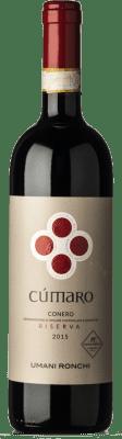 25,95 € Free Shipping | Red wine Umani Ronchi Rosso Riserva Cùmaro Reserva D.O.C.G. Conero Marche Italy Montepulciano Bottle 75 cl