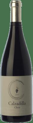 16,95 € Kostenloser Versand | Rotwein Uribes Madero Classic Crianza D.O.P. Vino de Pago Calzadilla Kastilien-La Mancha Spanien Tempranillo, Syrah, Grenache, Cabernet Sauvignon Flasche 75 cl