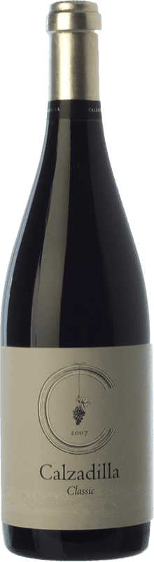 16,95 € Free Shipping | Red wine Uribes Madero Classic Crianza D.O.P. Vino de Pago Calzadilla Castilla la Mancha Spain Tempranillo, Syrah, Grenache, Cabernet Sauvignon Bottle 75 cl