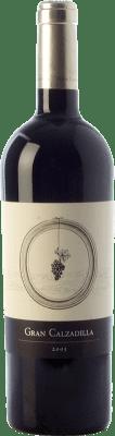 39,95 € Free Shipping | Red wine Uribes Madero Gran Calzadilla Crianza I.G.P. Vino de la Tierra de Castilla Castilla la Mancha Spain Tempranillo, Cabernet Sauvignon Bottle 75 cl