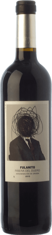 9,95 € Free Shipping | Red wine Uvas de Cuvée Fulanito Joven D.O. Ribera del Duero Castilla y León Spain Tempranillo, Merlot, Cabernet Sauvignon Bottle 75 cl