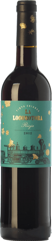 23,95 € Free Shipping | Red wine Uvas Felices La Locomotora Crianza D.O.Ca. Rioja The Rioja Spain Tempranillo Magnum Bottle 1,5 L