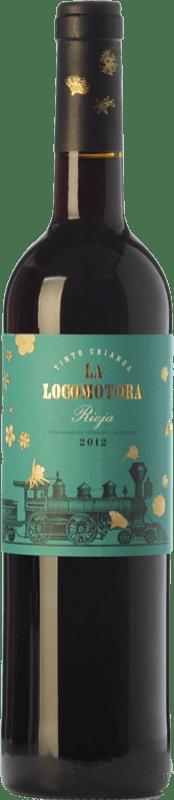 11,95 € Free Shipping | Red wine Uvas Felices La Locomotora Crianza D.O.Ca. Rioja The Rioja Spain Tempranillo Magnum Bottle 1,5 L