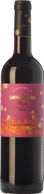 7,95 € Envoi gratuit | Vin rouge Uvas Felices La Locomotora Joven D.O.Ca. Rioja La Rioja Espagne Tempranillo Bouteille 75 cl