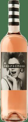 6,95 € Envoi gratuit | Vin rose Uvas Felices Sospechoso I.G.P. Vino de la Tierra de Castilla Castilla La Mancha Espagne Tempranillo, Bobal Bouteille 75 cl