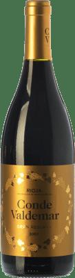 23,95 € Kostenloser Versand | Rotwein Valdemar Conde de Valdemar Gran Reserva D.O.Ca. Rioja La Rioja Spanien Tempranillo, Graciano, Mazuelo Flasche 75 cl