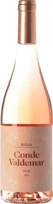 5,95 € Envío gratis | Vino rosado Valdemar Conde de Valdemar Rosé Joven D.O.Ca. Rioja La Rioja España Tempranillo, Garnacha Botella 75 cl
