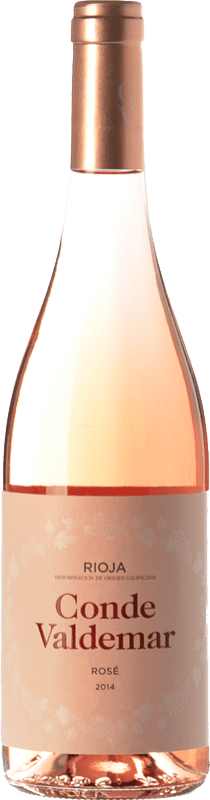 5,95 € Envoi gratuit | Vin rose Valdemar Conde de Valdemar Rosé Joven D.O.Ca. Rioja La Rioja Espagne Tempranillo, Grenache Bouteille 75 cl