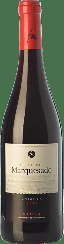 7,95 € Envoi gratuit | Vin rouge Valdemar Finca del Marquesado Crianza D.O.Ca. Rioja La Rioja Espagne Tempranillo, Grenache, Graciano Bouteille 75 cl