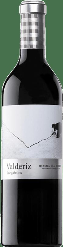 28,95 € Envío gratis | Vino tinto Valderiz Juegabolos Reserva D.O. Ribera del Duero Castilla y León España Tempranillo Botella 75 cl