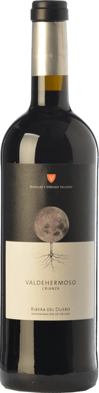 11,95 € Free Shipping | Red wine Valderiz Valdehermoso Crianza D.O. Ribera del Duero Castilla y León Spain Tempranillo Bottle 75 cl