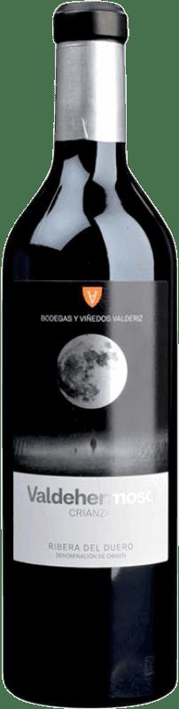 11,95 € Envío gratis | Vino tinto Valderiz Valdehermoso Crianza D.O. Ribera del Duero Castilla y León España Tempranillo Botella 75 cl