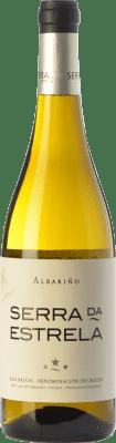 14,95 € Free Shipping | White wine Valmiñor Serra da Estrela D.O. Rías Baixas Galicia Spain Albariño Bottle 75 cl