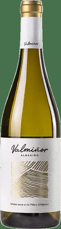 13,95 € Free Shipping | White wine Valmiñor D.O. Rías Baixas Galicia Spain Albariño Bottle 75 cl