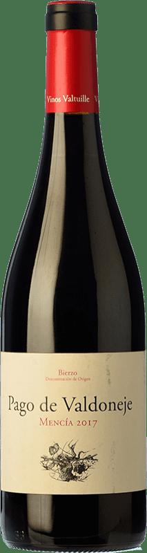 6,95 € Envío gratis | Vino tinto Valtuille Pago de Valdoneje Joven D.O. Bierzo Castilla y León España Mencía Botella 75 cl