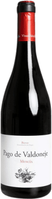 11,95 € Free Shipping | Red wine Valtuille Pago de Valdoneje Roble Joven D.O. Bierzo Castilla y León Spain Mencía Bottle 75 cl | Thousands of wine lovers trust us to get the best price guarantee, free shipping always and hassle-free shopping and returns.