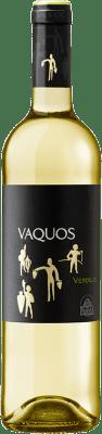 8,95 € Free Shipping | White wine Vaquos D.O. Rueda Castilla y León Spain Verdejo Bottle 75 cl