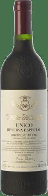 426,95 € Free Shipping | Red wine Vega Sicilia Único Reserva Especial Edición Reserva D.O. Ribera del Duero Castilla y León Spain Tempranillo, Cabernet Sauvignon Bottle 75 cl