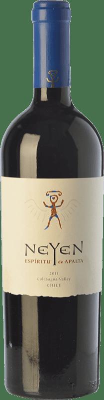 61,95 € Free Shipping | Red wine Veramonte Neyen The Blend Crianza I.G. Valle de Colchagua Colchagua Valley Chile Cabernet Sauvignon, Carmenère Bottle 75 cl