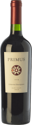 13,95 € Free Shipping | Red wine Veramonte Primus Crianza I.G. Valle del Maipo Maipo Valley Chile Cabernet Sauvignon Bottle 75 cl