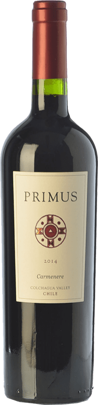 13,95 € Free Shipping | Red wine Veramonte Primus Crianza I.G. Valle de Colchagua Colchagua Valley Chile Carmenère Bottle 75 cl