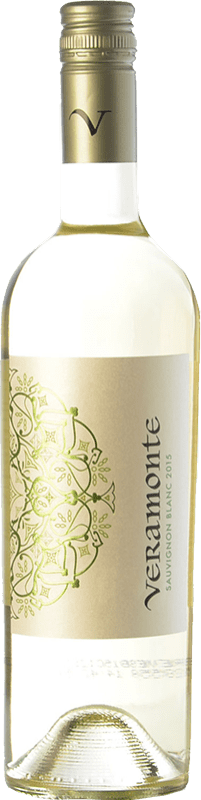 7,95 € Free Shipping | White wine Veramonte I.G. Valle de Casablanca Valley of Casablanca Chile Sauvignon White Bottle 75 cl