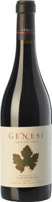24,95 € Free Shipping | Red wine Vermunver Gènesi Varietal Vinyes Velles Carinyena Crianza D.O. Montsant Catalonia Spain Carignan Bottle 75 cl