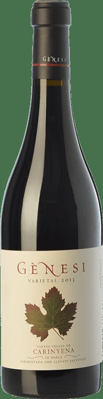24,95 € Envío gratis | Vino tinto Vermunver Gènesi Varietal Vinyes Velles Carinyena Crianza D.O. Montsant Cataluña España Cariñena Botella 75 cl