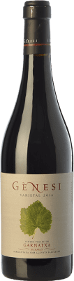 22,95 € Free Shipping | Red wine Vermunver Gènesi Varietal Vinyes Velles Garnatxa Crianza D.O. Montsant Catalonia Spain Grenache Bottle 75 cl