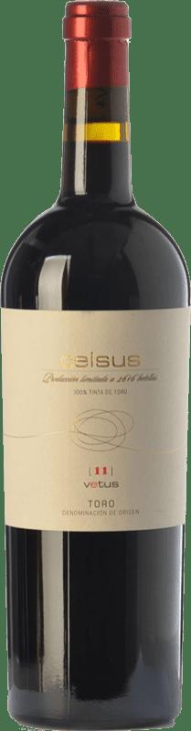 36,95 € Free Shipping | Red wine Vetus Celsus Crianza D.O. Toro Castilla y León Spain Tinta de Toro Bottle 75 cl
