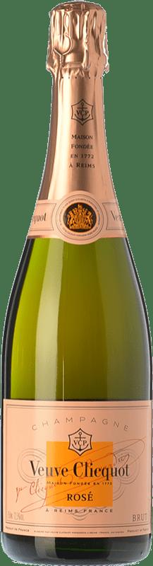 132,95 € Envoi gratuit | Rosé moussant Veuve Clicquot Rosé Brut A.O.C. Champagne Champagne France Pinot Noir, Chardonnay, Pinot Meunier Bouteille Magnum 1,5 L