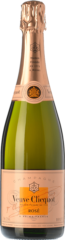 132,95 € Free Shipping | Rosé sparkling Veuve Clicquot Rosé Brut A.O.C. Champagne Champagne France Pinot Black, Chardonnay, Pinot Meunier Magnum Bottle 1,5 L