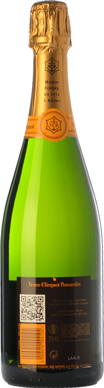 399,95 € Free Shipping   White sparkling Veuve Clicquot Yellow Label Brut A.O.C. Champagne Champagne France Chardonnay, Pinot Meunier Jeroboam Bottle-Double Magnum 3 L   Thousands of wine lovers trust us to get the best price guarantee, free shipping always and hassle-free shopping and returns.