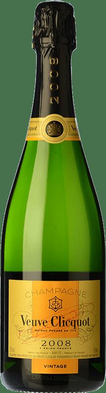 68,95 € Envoi gratuit | Blanc moussant Veuve Clicquot Vintage 2004 A.O.C. Champagne Champagne France Pinot Noir, Chardonnay, Pinot Meunier Bouteille 75 cl