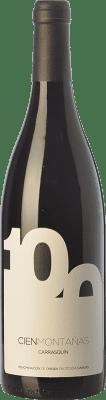 21,95 € Envío gratis | Vino tinto Vidas 100 Montañas Crianza D.O.P. Vino de Calidad de Cangas Principado de Asturias España Carrasquín Botella 75 cl