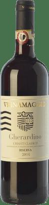 23,95 € Free Shipping | Red wine Vignamaggio Gherardino Riserva Reserva D.O.C.G. Chianti Classico Tuscany Italy Merlot, Sangiovese Bottle 75 cl