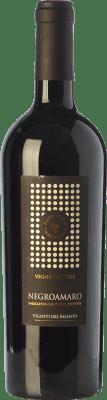 36,95 € Envío gratis | Vino tinto Vigneti del Salento Vigne Vecchie I.G.T. Puglia Puglia Italia Negroamaro Botella 75 cl