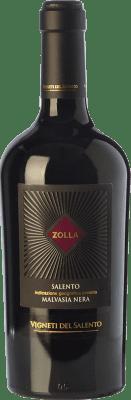 13,95 € Free Shipping | Red wine Vigneti del Salento Zolla Malvasia Nera Zolla I.G.T. Salento Campania Italy Malvasia Black Bottle 75 cl