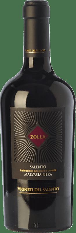 15,95 € Free Shipping | Red wine Vigneti del Salento Zolla Malvasia Nera Zolla I.G.T. Salento Campania Italy Malvasia Black Bottle 75 cl