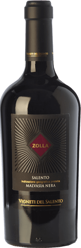 14,95 € Envoi gratuit | Vin rouge Vigneti del Salento Zolla Malvasia Nera Zolla I.G.T. Salento Campanie Italie Malvasia Noire Bouteille 75 cl
