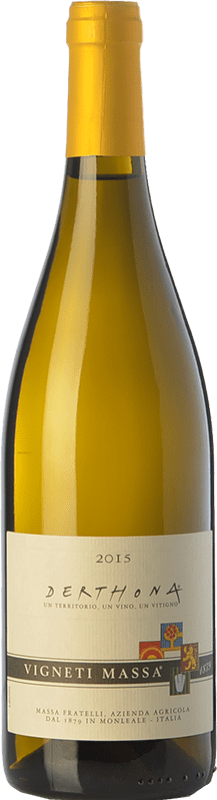 22,95 € Free Shipping | White wine Vigneti Massa Derthona D.O.C. Colli Tortonesi Piemonte Italy Bacca White Bottle 75 cl