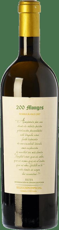 49,95 € Envoi gratuit | Vin blanc Vinícola Real 200 Monges Selección Especial Crianza 2007 D.O.Ca. Rioja La Rioja Espagne Viura, Malvasía, Grenache Blanc Bouteille 75 cl