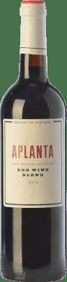 9,95 € Free Shipping | Red wine Vinos del Atlántico Aplanta Crianza I.G. Alentejo Alentejo Portugal Grenache Tintorera, Aragonez Bottle 75 cl
